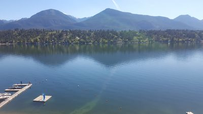 Photo for Invermere Bay Lakefront Condo with beautiful view...
