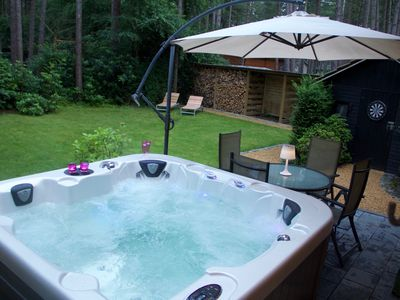 Photo for ⭐️⭐️⭐️⭐️ - Chalet With Outdoor Jacuzzi 🌲