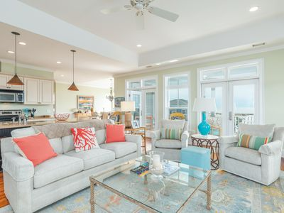 Photo for Beautiful and spacious home with wrap around porches and ocean views