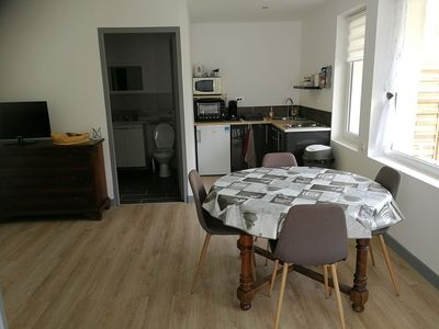 Photo for Furnished 35m2 all comfort 4 people 5 minutes from Calais