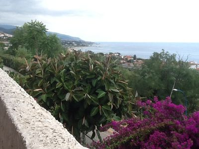 Photo for 3 Room Apartment With Spectacular View Of Mare Tirreno. Sleeps 2 adults+2 kids