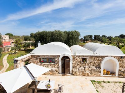 Photo for Rent Trulli Puglia '600 -Ostuni town and beaches  at 5'drive