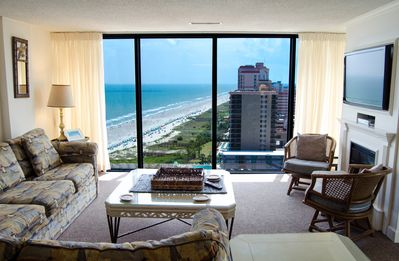 Photo for Gorgeous Ocean View 3 Bedroom w/ Balcony + Official On-Site Rental Privileges