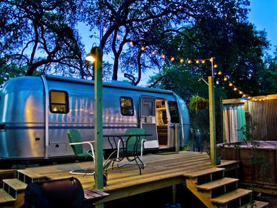Photo for Super Cute Retro Airstream **Hot Tub and Outdoor Shower**