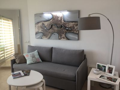 Photo for Nice apartment next to the promenade and Puerto Marina.