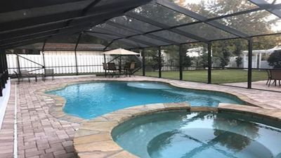 Photo for *NEW LOWER RATES* Private Heated Pool*~5BR/4BA* Close To Beach, Ent, shops Pet