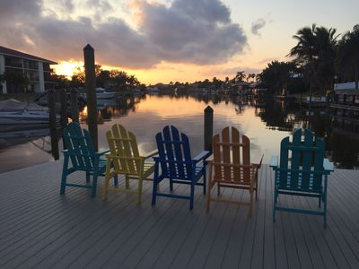 Photo for Waterfront!!  Enjoy Beautiful Sunsets and Fish off the Docks!
