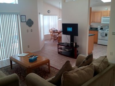 Photo for *Indian pointe near Disney! 4 bedrooms, 3 bathrooms, sleeps 8-10 with pool