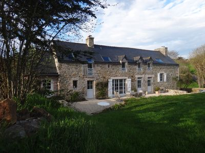 Photo for Charming farmhouse, sea, Pléneuf Val André, 200 meters Golf 18 holes