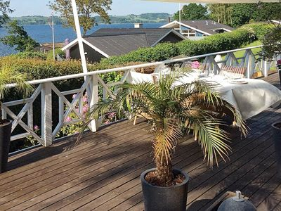 Photo for Luxury Holiday Home in Børkop with View of Vejle Fjord