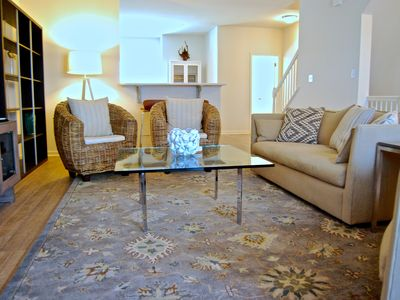 Photo for Light, Airy, Modern, Beachy!  Sleeps up to 9!