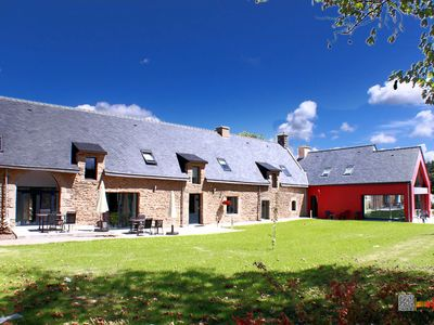 Photo for 2BR Country House / Chateau Vacation Rental in THEIX, Bretagne