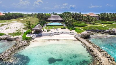 Photo for Villa Corales Beachfront 5 Bedroom with Private Beach in exclusive resort