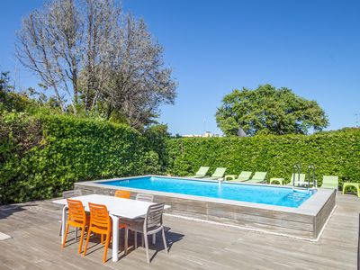 Photo for La Ritournelle - Within walking distance of the beach of Cap d'Antibes.