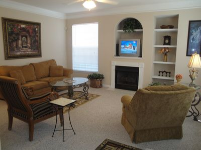 Photo for Beautiful 2 bedroom / 2 bath condo on lower level.