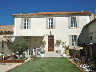Photo for BEDOIN VILLAGE HOUSE BOURGEOISE 6 BEDROOM HEATED POOL MONT VENTOUX
