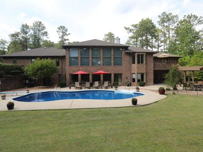 Photo for 6,500sf Pinehurst Home- 7br/4.5ba Home with Pool, Gym, Theater & great location.