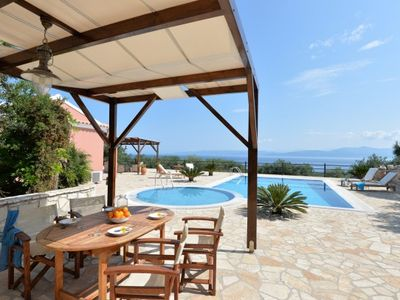 Photo for Luxury Villa with Private Pool and Spectacular Sea View