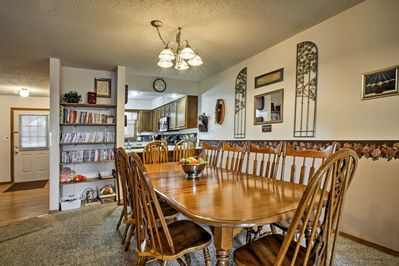 Non-stop fun awaits at this 4-bed, 4-bath townhome in Branson West!
