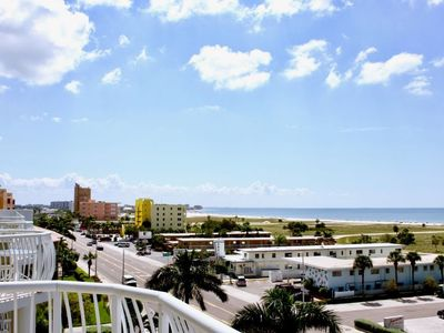 Photo for WALK TO THE BEACH! THREE x 2BR/2BA APARTMENTS, GULF VIEW, BALCONY, POOL, PARKING