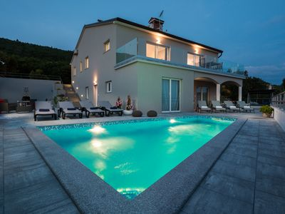 Photo for Villa with amazing view with private pool and jacuzzi