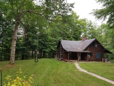 Photo for Tenney Mountain Year Round Brook Side Cabin Getaway