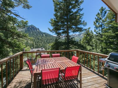 Photo for Juniper  - Stunning Views and Brand New Hot Tub at this 4 BR Ski Cabin