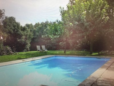 Photo for Beautiful  countryhouse in rural surroundings with pool and pool house.