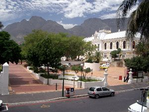 Vacation apartment in a very popular district in Cape Town