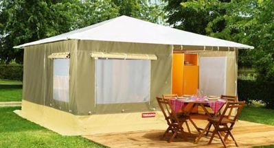 Photo for Camping Aquarev *** - Bungalodge 3 rooms 4 persons Without Bathroom