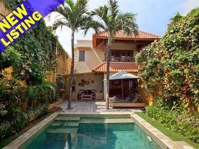 Photo for Two Storey Charming 3 Bedroom Villa, Central Seminyak""
