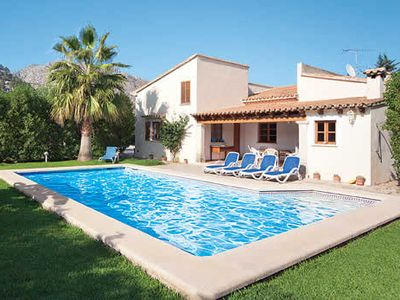 Photo for Comfortable Villa on  spacious lot w/pool and BBQ, close to Pollensa