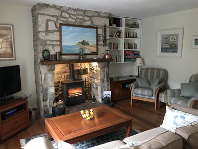 Photo for A charming converted millers cottage situated close to Budle Bay