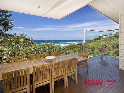 Photo for Luxury beach house in a prime position! Direct Beach Access