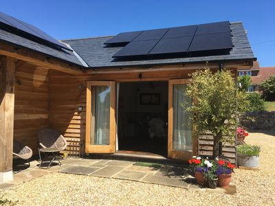 Photo for The Barn - A brand new self contained holiday let on the Isle of Wight