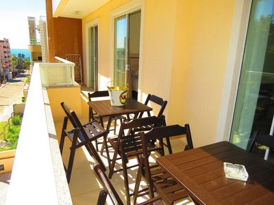 Photo for Code 127 Beautiful 2 bedroom apartment in the center of Bombinhas Beach!