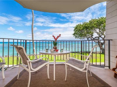 Photo for Kahana Reef 212: 1 BR / 1 BA condo in Lahaina, Sleeps 4