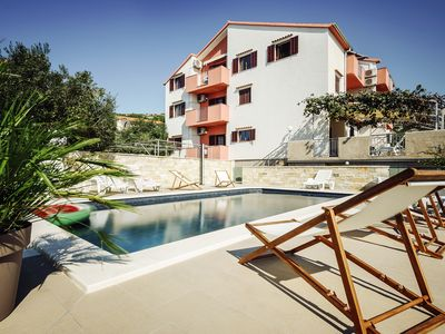 Photo for Apartments Martina with a swimming pool
