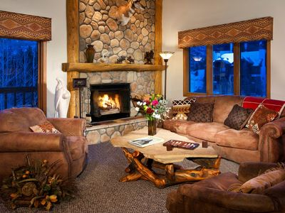 Photo for Ski-in Condo | Wood Fireplace, Balcony | Free Shuttle & Housekeeping