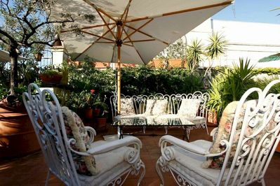 Plus  a Terrace with Comfortable Seating