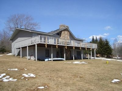 Photo for Mountain get-a-way with a superb view. Larkwood Lodge located at Timberline!