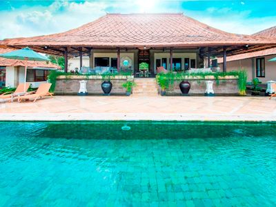 Photo for Puri Balangan,Magnificent 4Br Ocean Views-Jimbaran
