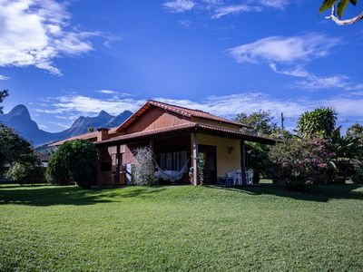 Photo for Beautiful location near Hotel Le Canton. Pool, barbecue and beautiful garden