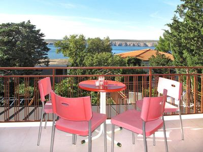Photo for Apartment Visnja  in Jadranovo, Kvarner Bay - 4 persons, 2 bedrooms