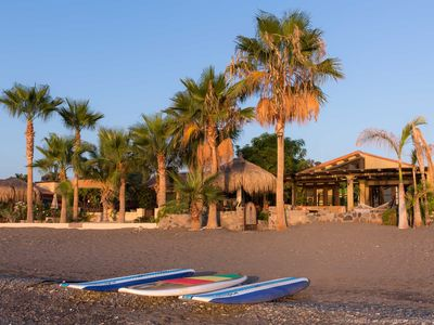 Photo for Luxurious Beach Front 3 Bedroom Vacation Home with Kayaks and Paddleboards