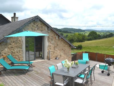 Photo for Beautifully furnished, new (2018) holiday home in a quiet location in the Morvan