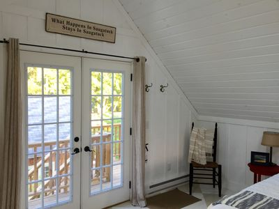 Photo for Charming Cottage Coach House in Downtown Saugatuck
