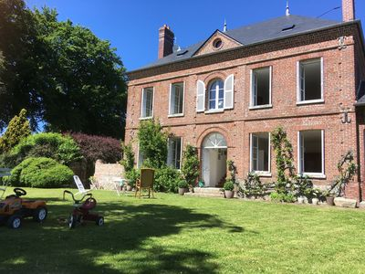 Photo for rent charming house 1820.6km beach of Petites Dalles, 9 beds.