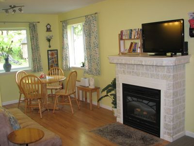 Photo for Peaceful studio close to ferry & airport, a short hop to Gulf Islands & Butchart