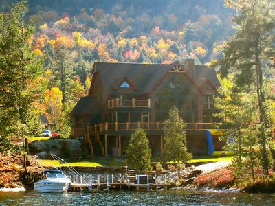 Photo for 'Solitude' -  Beautiful & Luxurious Adirondack Lakefront Home